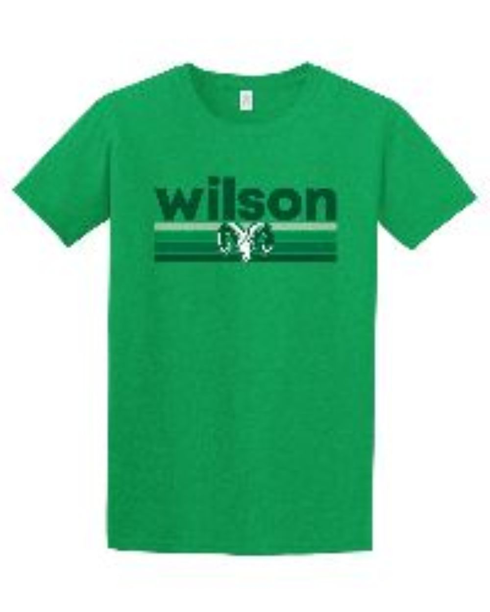 Green softstyle T-shirt