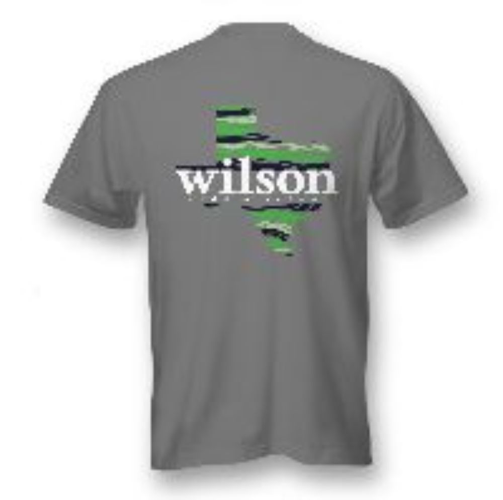 Grey Wilson short sleeve T-shirt