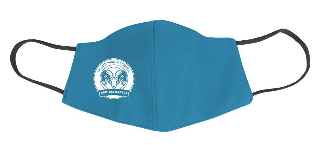 Light Blue Ram Resilient Mask